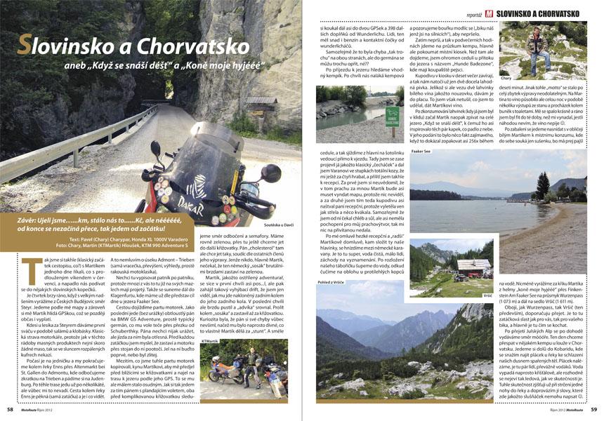 Slovinsko a Chorvatsko