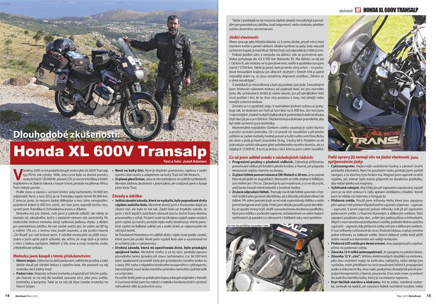 Honda XL 600V Transalp