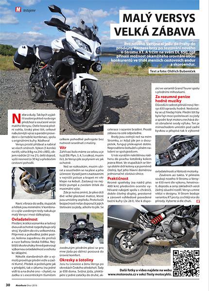 Test Kawasaki Versys 650