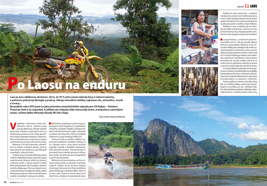 Laos offroad