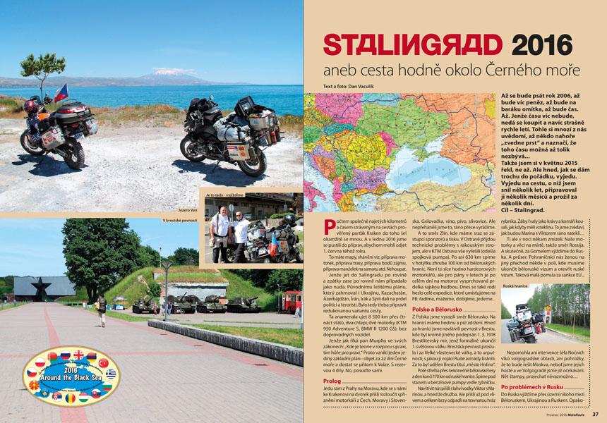 Na motorce okolo Černého moře