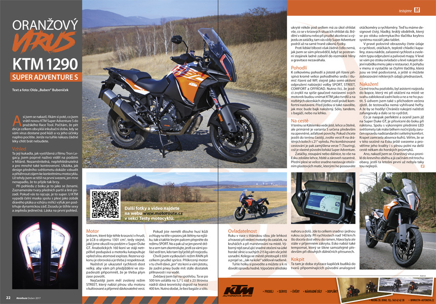 Test KTM 1290 Super Adventure S