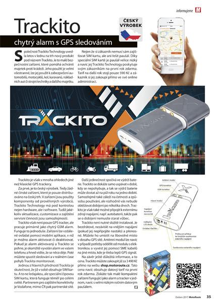 GPS alarm & tracker Trackito