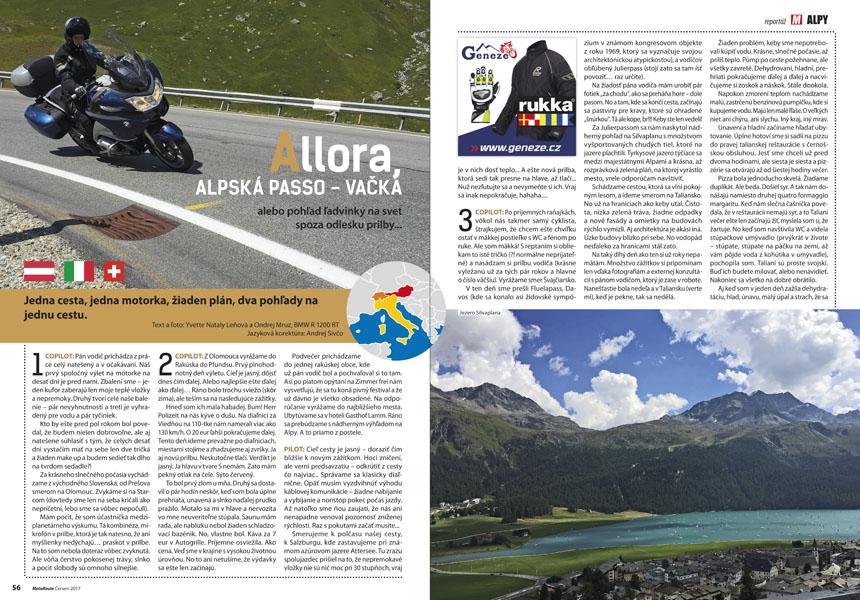 Alpy na moto