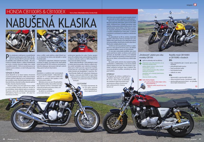 Test: Honda CB1100RS & CB1100EX