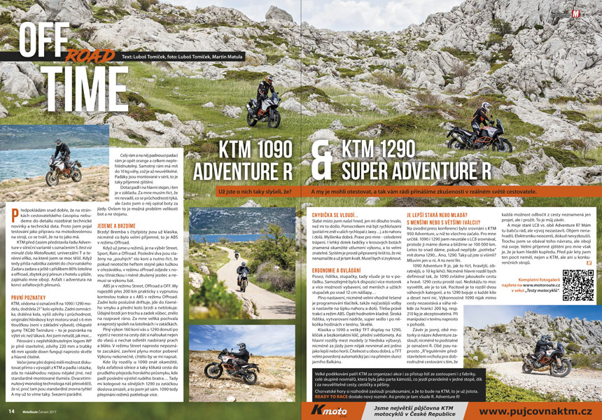Test KTM 1090 Adventure R, 1290 Super Adventure R