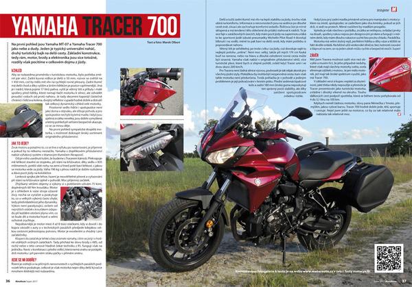 Test Yamaha Tracer 700