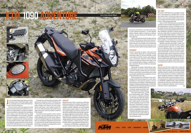 Test KTM 1090 Adventure