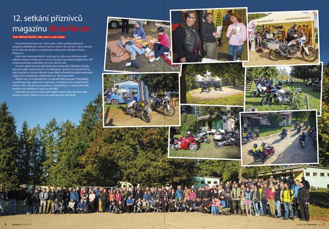 12. setkání příznivců magazínu MotoRoute