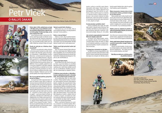 Rozhovor: Petr Vlček o rallye Dakar