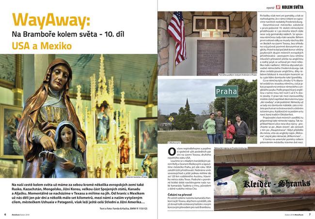 WayAway: Na Bramboře kolem světa