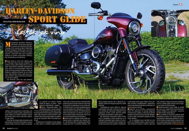 Test Harley-Davidson Sport Glide