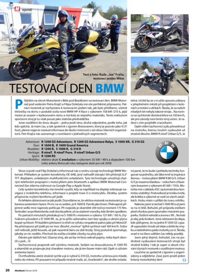 Test BMW 2018