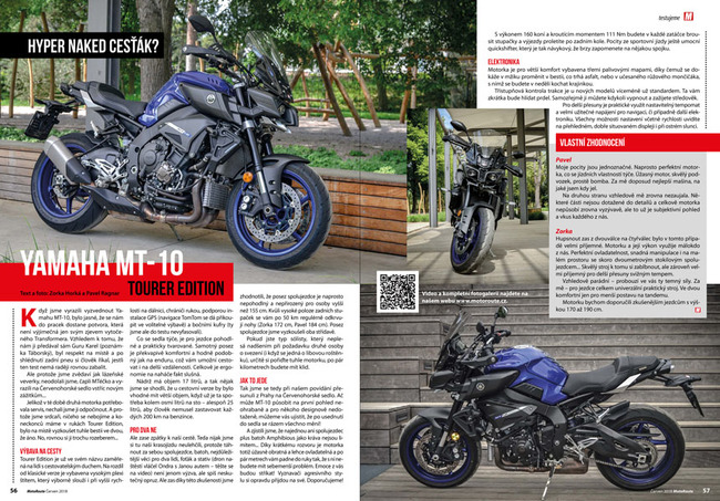 Test Yamaha MT-10 TE