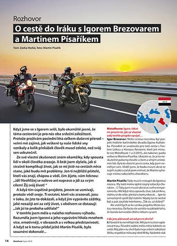 Igor Brezovar a Martin Písařík - Irák a Moto cestou necestou