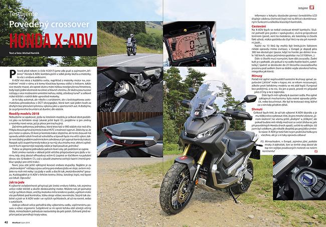 Test Honda X-ADV model 2018