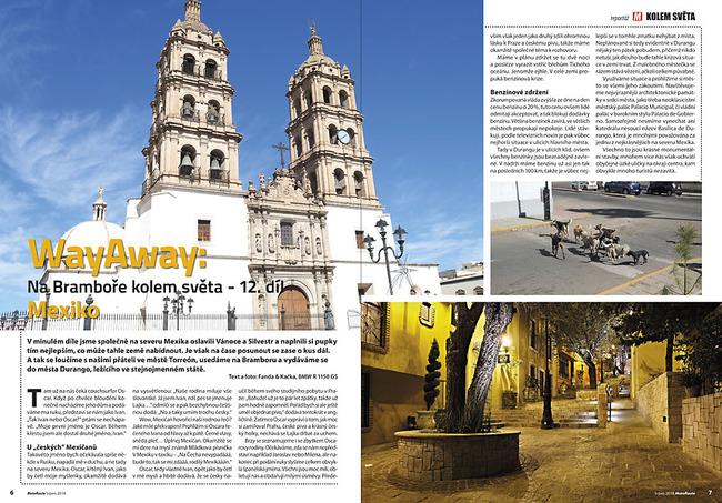 WayAway - na Bramboře kolem světa (Mexiko)