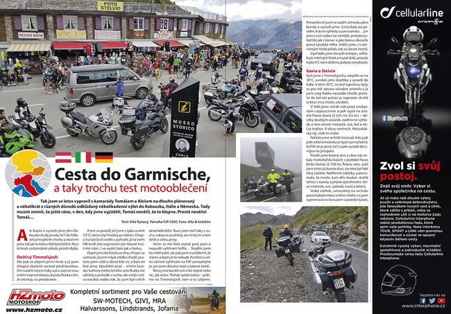 Cesta do Garmische