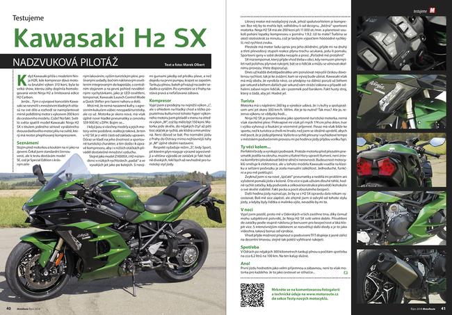 Test: Kawasaki Ninja H2 SX