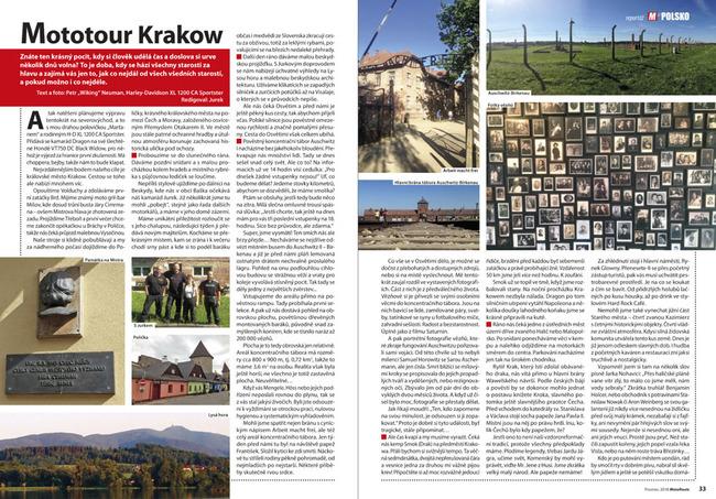 Osvětim a Krakow
