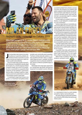 Milan Engel Dakar