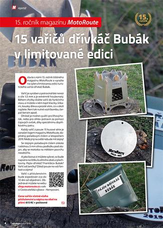 Vařič dřívkáš Bubák Limited Edition