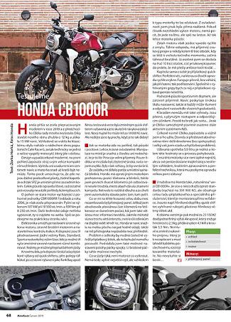 Test Honda CB1000R