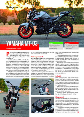 Test Yamaha MT-03