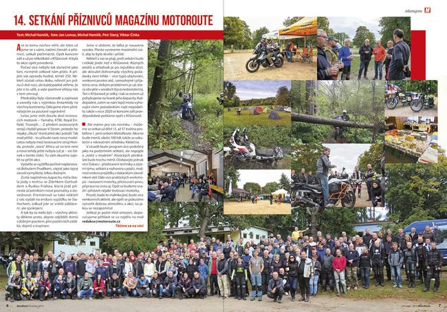 14. setkání příznivců magazínu MotoRoute