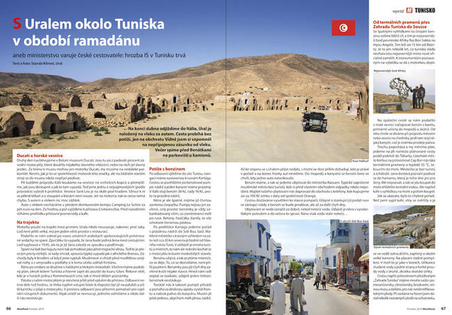 Tunisko s Uralem