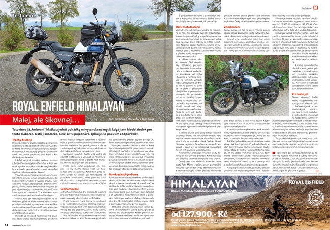 Test Royal Enfield Himalayan