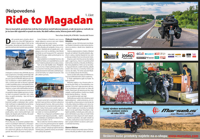 Ride to Magadan