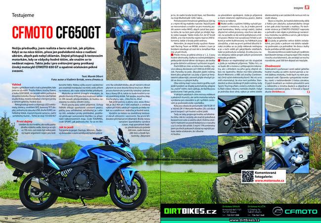 Test CFMOTO CF650GT