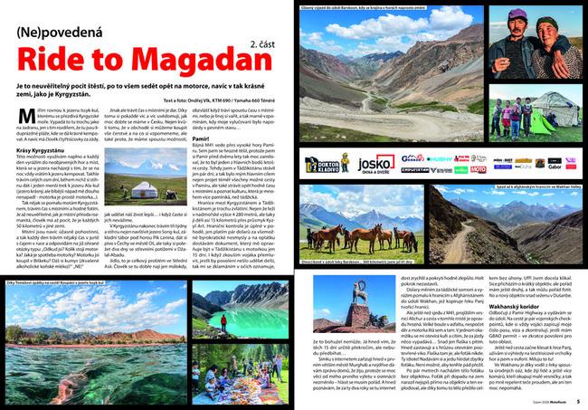 Ride to Magadan