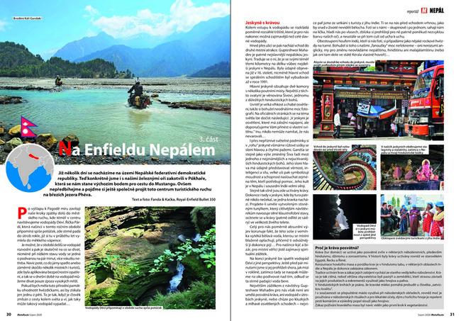 Na Enfieldu Nepálem