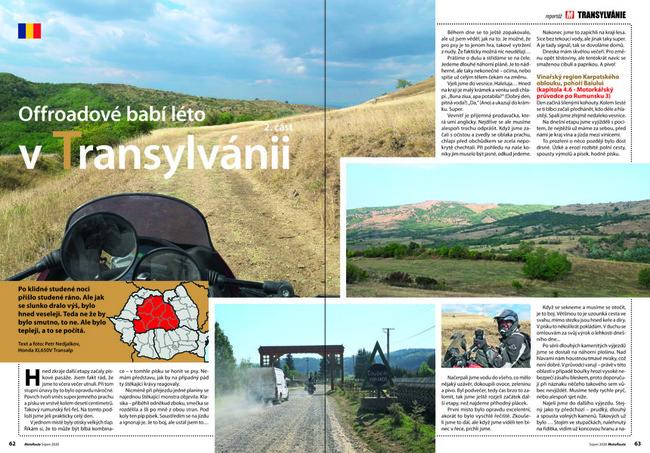 Offroadové babí léto v Transylvánii
