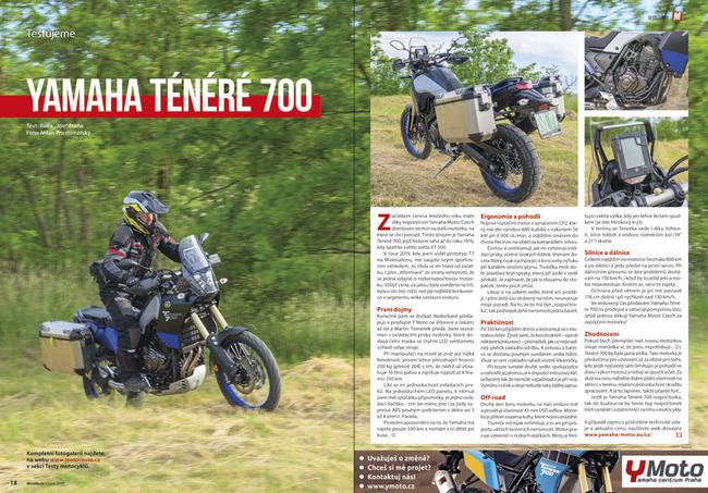 Tes: Yamaha Ténéré 700