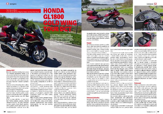 Test: Honda Gold Wing Tour 2021