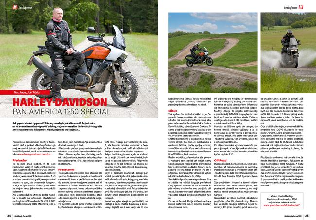 Test: Harley-Davidson Pan America 1250 Special
