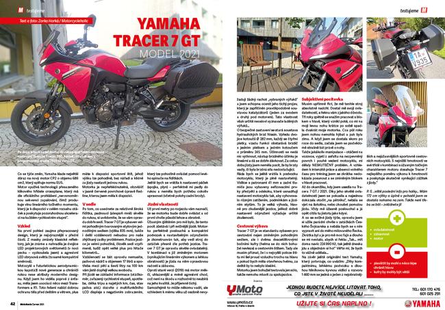 Test: Yamaha Tracer 7 GT model 2021