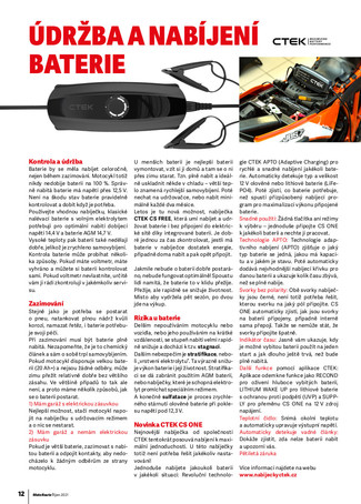 Údržba a nabíjení baterie