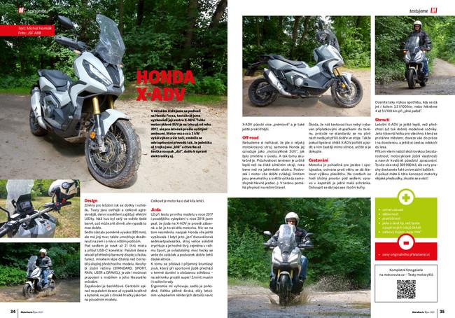 Test Honda X-ADV 2021