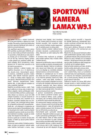 Test kamery Lamax W9.1