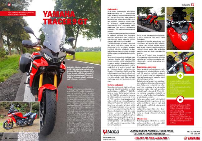Test Yamaha Tracer 9 GT