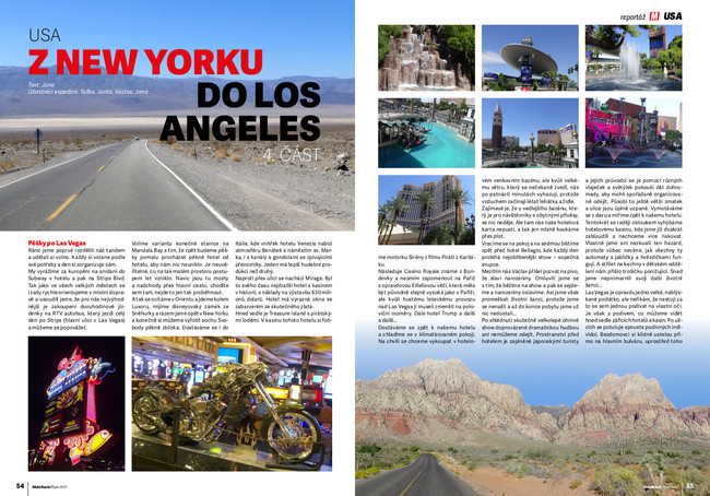 Z New Yorku do Los Angeles 4. část