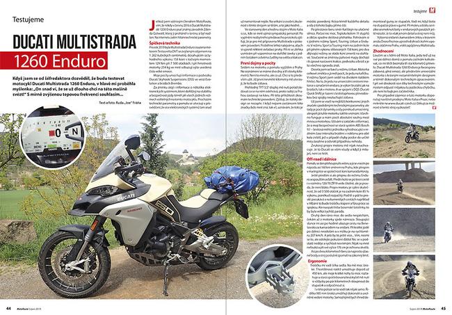 Test Ducati Multistrada 1260 Enduro