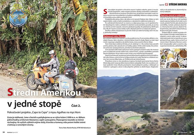 Střední Amerikou v jedné stopě