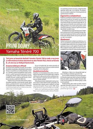 Test Yamaha Ténéré 700