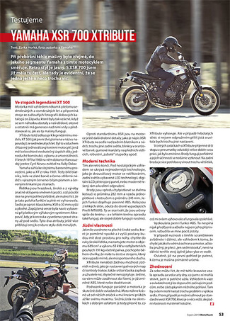 Test Yamaha XTribute