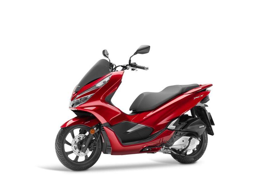 Honda Pcx125 Model 2018 článek Na Portále Motoroutecz